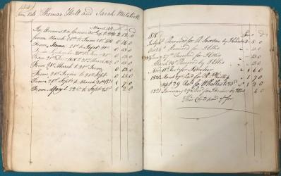 Ossett bastardy book, 1805 - c1822